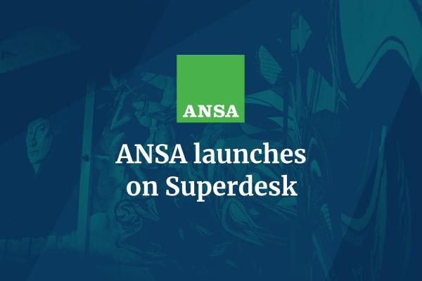 ANSA launches on Superdesk